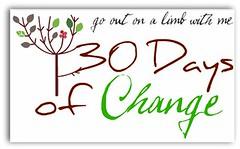 30daysofchange