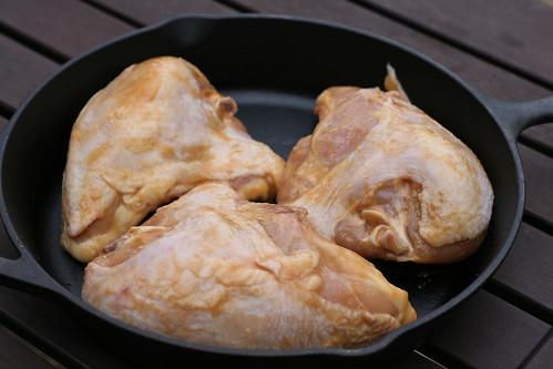 chicken, ready to roast