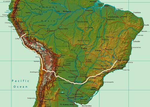 SUDAMÉRICA 2010: Ahora es volver hacia Brasil.