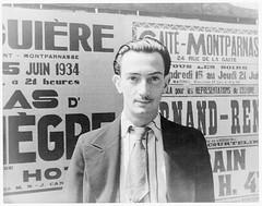[Portrait of Salvador Dali, Paris] (LOC)
