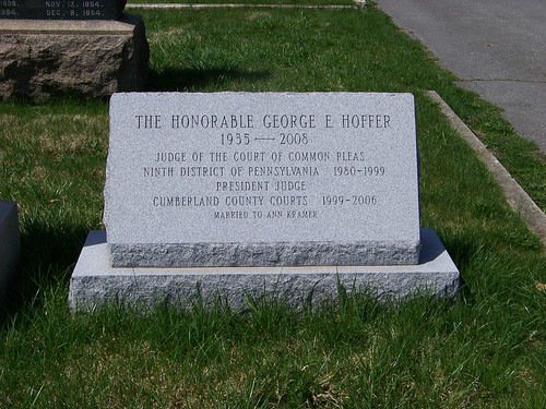 The Honorable George E. Hoffer
