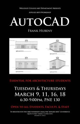 AutoCAD Poster