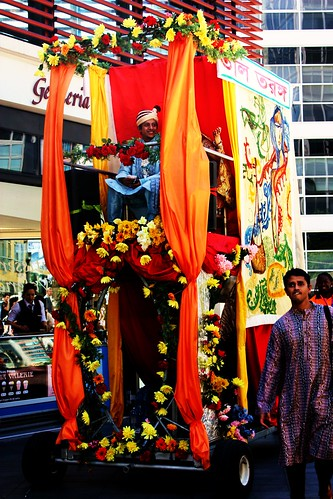 Baishaki Mela Flower Float