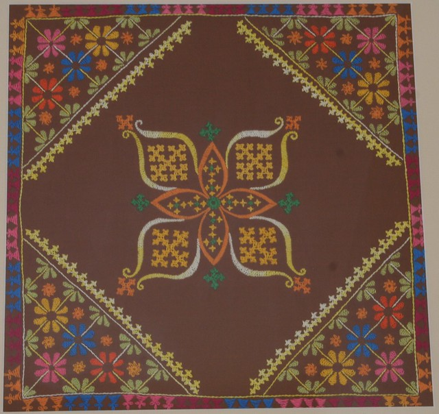 kutch work wall hanging