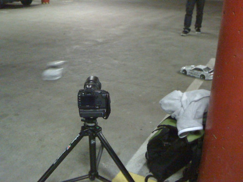 Filming rc drift cars with the 5d