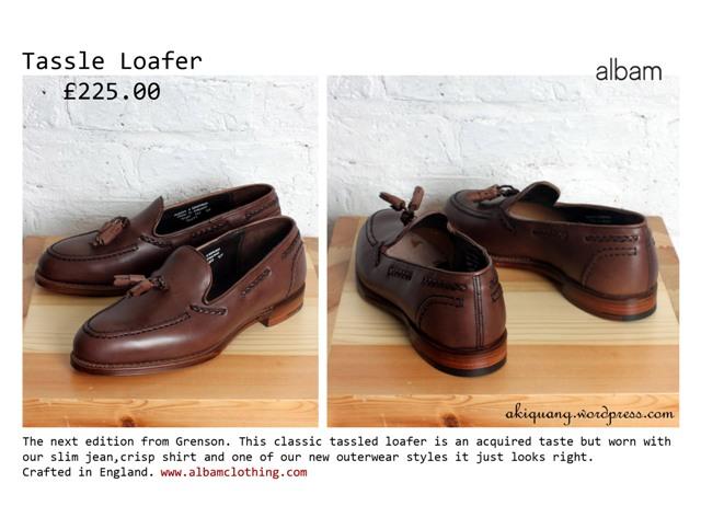 tassle loafer