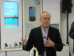 WIND Mobile CEO Ken Campbell at Calgary Launch