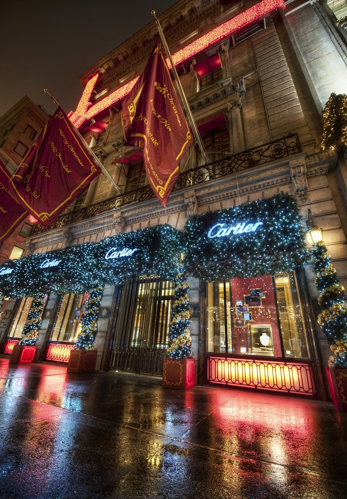Cartier in New York during the Holidays