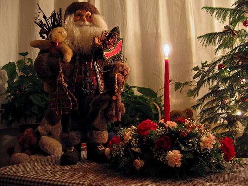 Santa and FREIDRICH