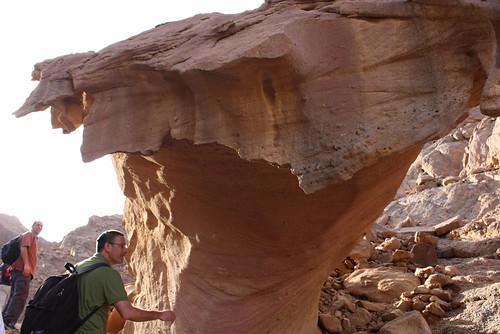 Mushroom Rock Formation, Timna