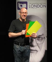 TAM London 2009: Richard Wiseman's tricks