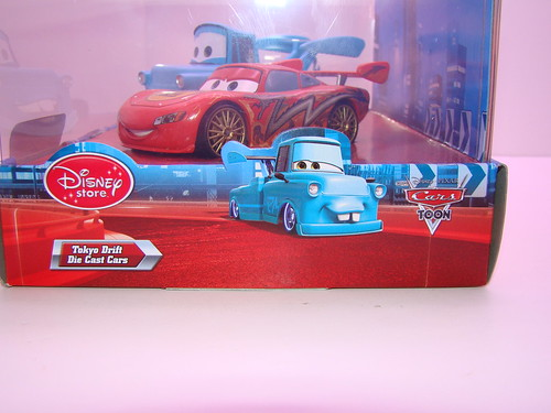 disney store CARS drift mater and dragon mcqueen (5)