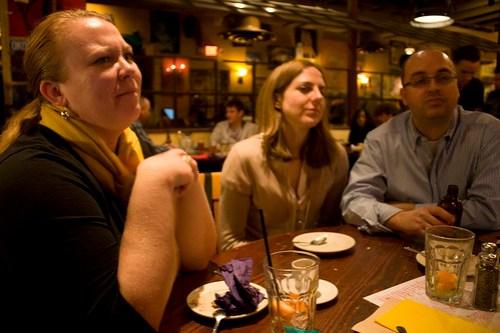 Brenda, Amy and David