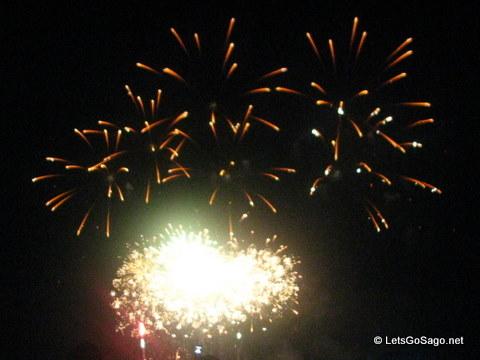 Pyromusical Fireworks