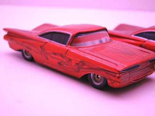 Disney CARS ransburg and regular hydraulic ramone comparison (7)