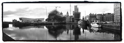 Liverpool Pier Head - Taken With An iPhone