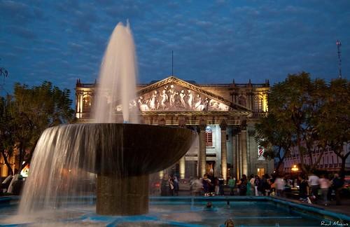 Fuente y Teatro Degollado