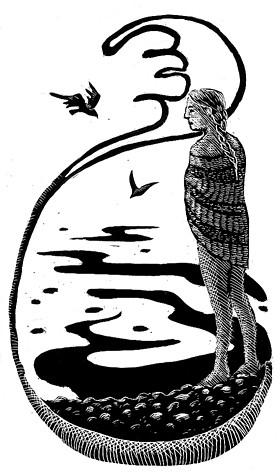 Illustration Friday: Dip