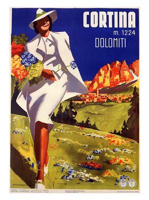 cortina-michele-ortino-italian-travel-poster-1938