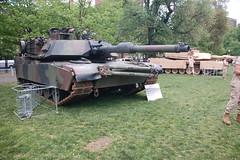 Marine Week Boston, 2010: M1A1 Main Battle Tan...