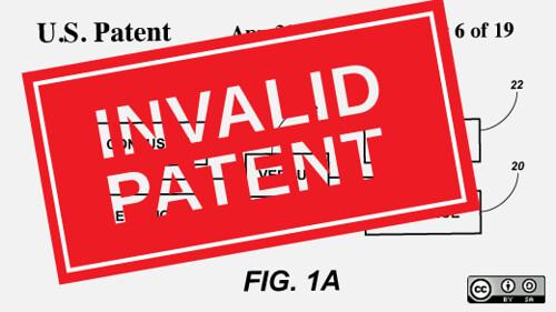 patent invalid