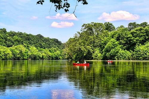 Canoeing the James River