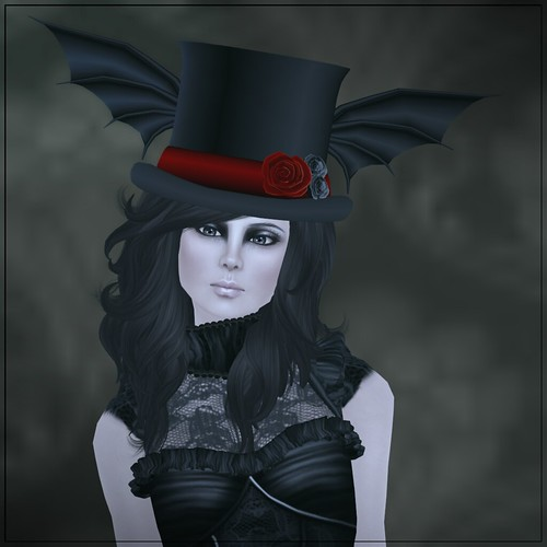 Hatpins - The Bat Hat