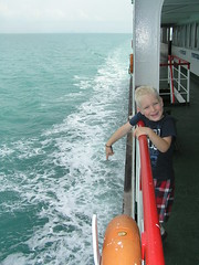 The ferry to Koh Samui