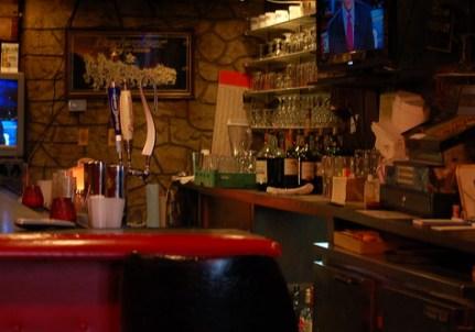 The bar at Colettas on South Parkway, Memphis, Tenn.