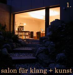 Udo Schindler, Margarita Holzbauer, Harald Lillmeyer - 1. Salon für Klang + Kunst
