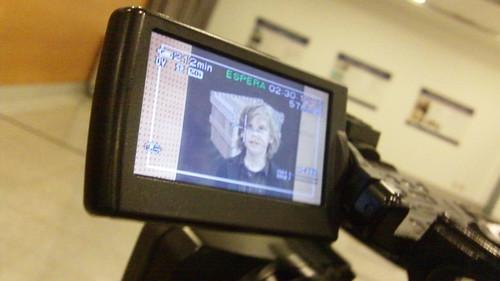 Dorian Being Interviewed After Demo