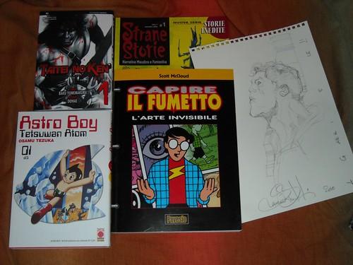 Bottino al Torino Comics 2010