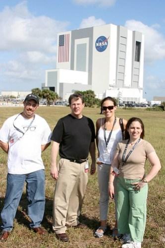 Members from my NASATweetup Table