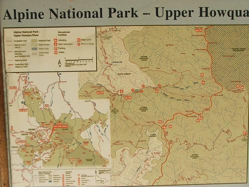 Alpine National Park Map