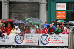 Cork City Marathon Cheering Section