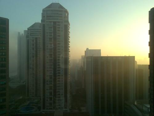 Dawn over São Paulo
