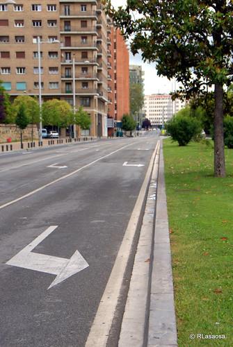 Visión insólita: la Avenida del Ejército sin coches