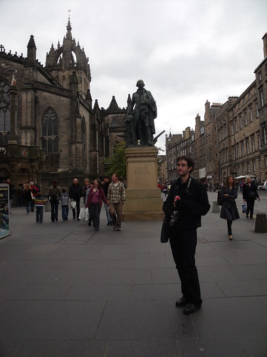 Statue of Adam Smith, Royal Mile, Edinburgh