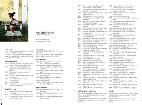 Art Terrirtories Lithuania residency Catalogue