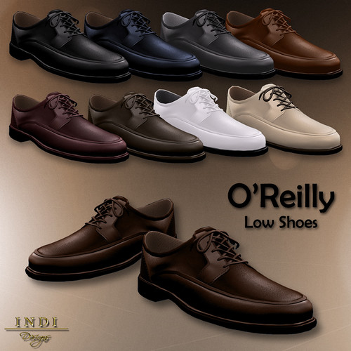 O'Reilly Low Shoes