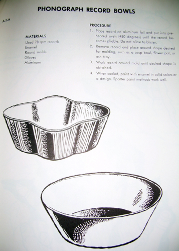 Phonograph Record Bowls