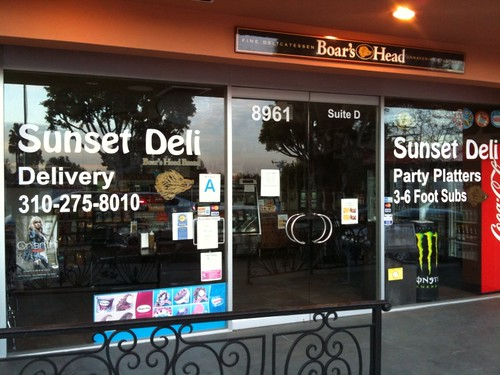 Sunset Deli closes at 4pm