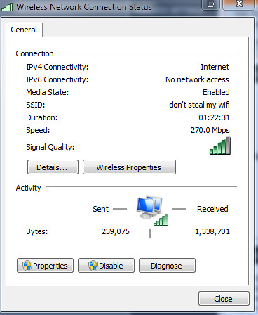 270mb local network