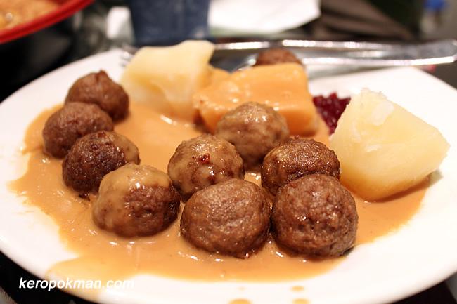 Swedish Meat Balls..