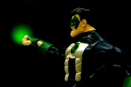 G Is For Green Lantern Kyle Rayner