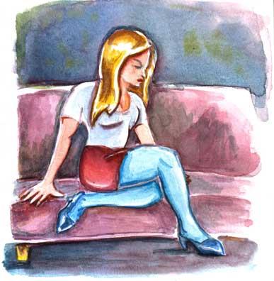 couchwoman