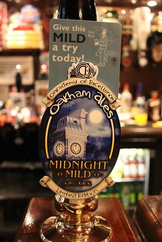 Oakham Ales - Midnight Mild pump clip