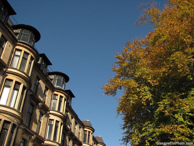 Autumn on Hillhead Street