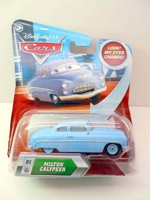 DISNEY CARS LENTICULAR MILTON CALYPEER