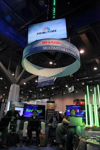 CES 2010 - NBC Universal Blogger Lounge